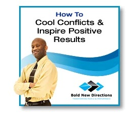 Audio Report on How To Cool Conflicts & Inspire Positive Results
