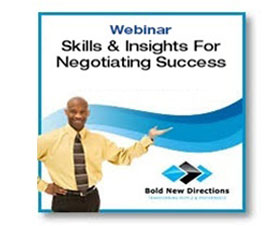 Free Webinar on Negotiations